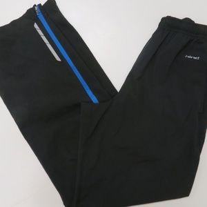 Hind Mens Small Track Running Athletic Pants Black